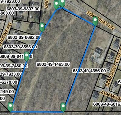 Winston Salem Residential Lots & Land For Sale: Somerset Drive