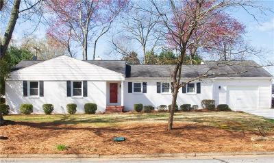 Greensboro Single Family Home For Sale: 1003 Onslow Drive