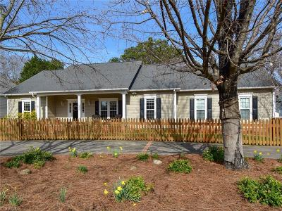 Winston Salem Single Family Home For Sale: 520 N Peace Haven Road