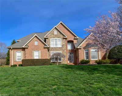 Winston Salem Single Family Home For Sale: 100 Saddlegate Court