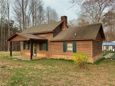 Yadkin County Single Family Home Due Diligence Period: 2045 Martha Ellen Road