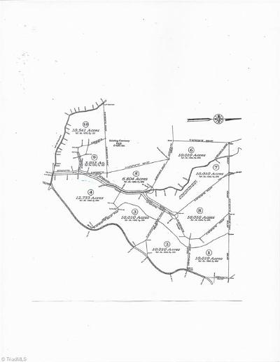 Wilkes County Residential Lots & Land For Sale: 1653 Mount Sinai Road