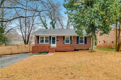 Winston Salem Single Family Home Due Diligence Period: 1305 Tredwell Drive