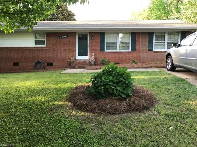 High Point Single Family Home For Sale: 1508 Hickory Court