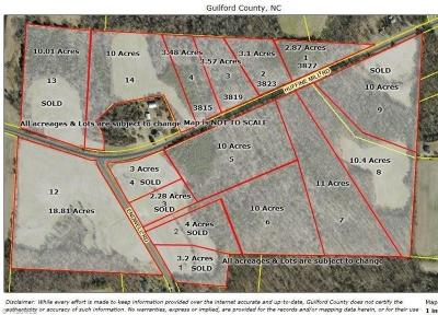 Gibsonville Residential Lots & Land For Sale: # 5 Huffine Mill Road #5