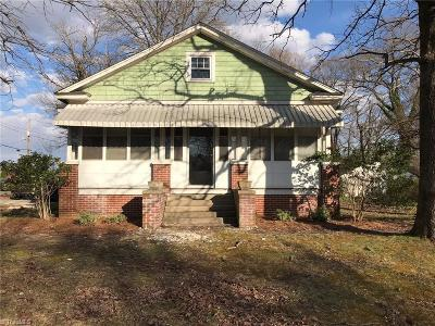 Greensboro Single Family Home For Sale: 4001 Pleasant Garden Road