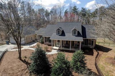 Guilford County Single Family Home Due Diligence Period: 4521 Dicks Mill Road