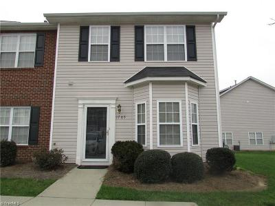 Winston Salem Condo/Townhouse Due Diligence Period: 1705 Olivers Crossing Circle