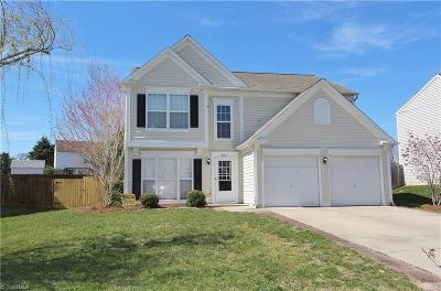 Guilford County Single Family Home For Sale: 3857 Windstream Way