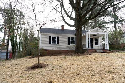 Greensboro Single Family Home For Sale: 2323 Albright Drive