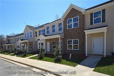 Greensboro Condo/Townhouse For Sale: 109 Sommerwall Place