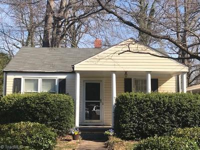 Greensboro Single Family Home For Sale: 2102 Bluemont Drive