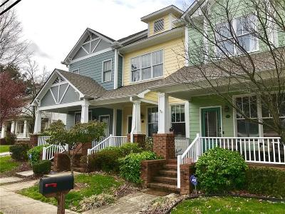 Guilford County Condo/Townhouse For Sale: 336 McAdoo Avenue