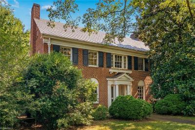 Winston Salem Single Family Home For Sale: 1905 W First Street