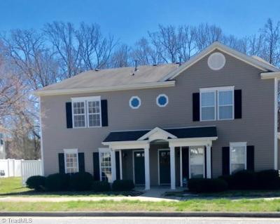Kernersville Condo/Townhouse For Sale: 4105 McConnell Drive