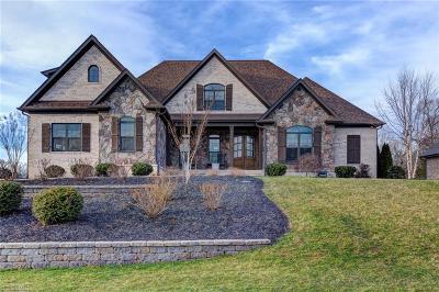 Greensboro Single Family Home For Sale: 131 Cobblestone Walk Drive