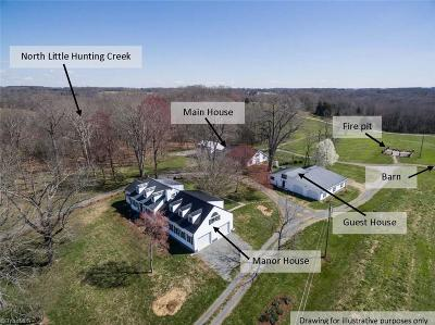 Yadkin County Single Family Home For Sale: 2522 B Buzzard Rock Circle