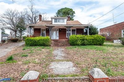 Reidsville Single Family Home For Sale: 804 Wentworth Street