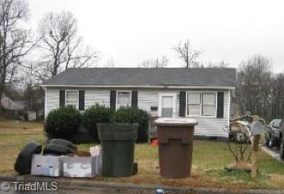 Greensboro Single Family Home For Sale: 1125 Easton Road