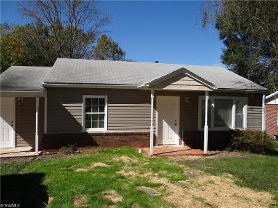 Stoneville Single Family Home For Sale: 105 Simpson Street