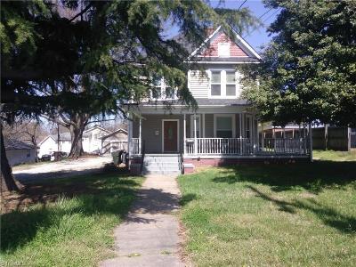 Greensboro Single Family Home For Sale: 1944 Spring Garden Street