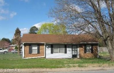 Greensboro Single Family Home For Sale: 401 Munster Avenue
