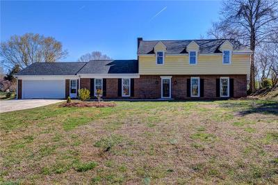 Kernersville Single Family Home Due Diligence Period: 611 Meadowland Road