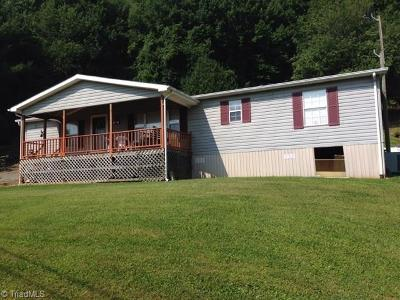 Alleghany County Manufactured Home For Sale: 46 Adams Lane
