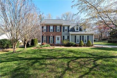 Mocksville Single Family Home For Sale: 184 Fox Run Drive