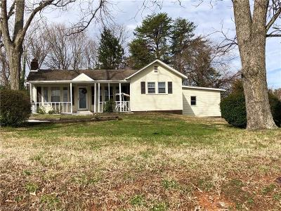 Reidsville NC Single Family Home For Sale: $58,000