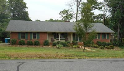 Denton NC Single Family Home For Sale: $164,900