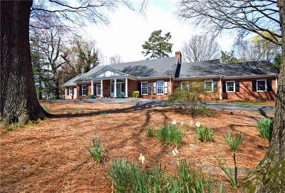 Winston Salem Single Family Home For Sale: 2891 Robinhood Road