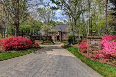 Winston Salem NC Single Family Home For Sale: $1,295,000