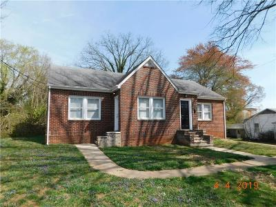 Single Family Home For Sale: 1455 Miller Street