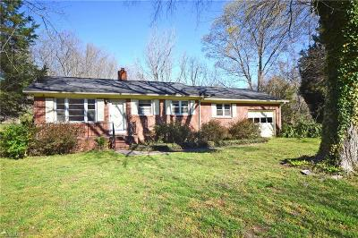 Winston Salem Single Family Home Due Diligence Period: 101 Meadowview Drive