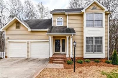 Greensboro Single Family Home For Sale: 3306 Van Allen Circle