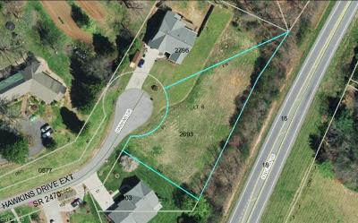 Wilkes County Residential Lots & Land For Sale: Hawkins Drive Extension