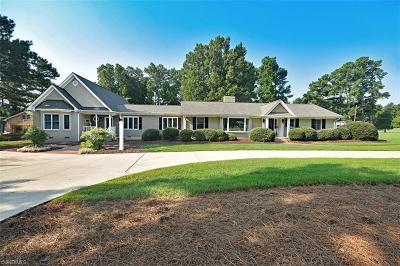 Burlington Single Family Home For Sale: 2502 Saddle Club Road