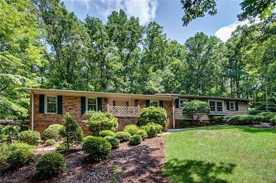 Asheboro Single Family Home For Sale: 1506 Old Lexington Road