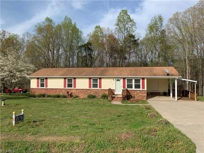 Caswell County Single Family Home For Sale: 3810 Quick Road