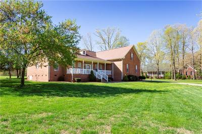 Reidsville Single Family Home For Sale: 161 Cedar Crest Court