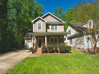 Greensboro Single Family Home For Sale: 706 Howard Street