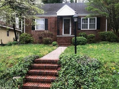 Greensboro Single Family Home For Sale: 1309 Seminole Drive