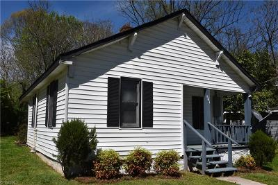Winston Salem Single Family Home For Sale: 801 Crowder Street