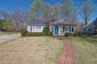 Lexington Single Family Home Due Diligence Period: 212 Raeford Avenue