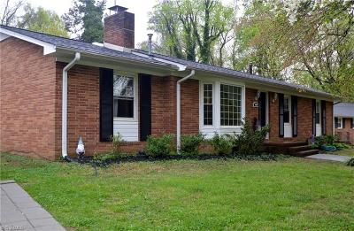 Burlington Single Family Home For Sale: 1538 Overbrook Road