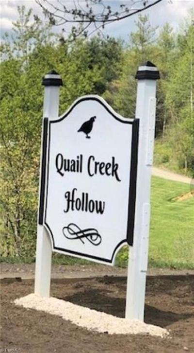 Ashe County Residential Lots & Land For Sale: 00 Quail Run