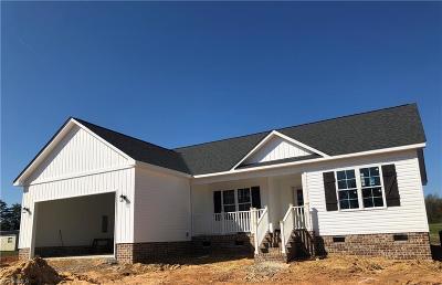 Reidsville Single Family Home For Sale: 2720 Reid School Road