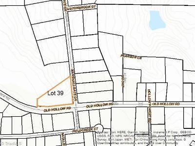 Winston Salem Residential Lots & Land For Sale: 5700 Marshallgate Drive
