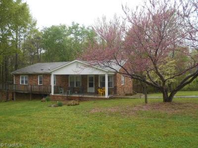 Rockingham County Single Family Home For Sale: 199 E Aiken Road